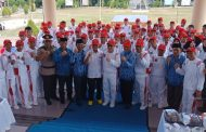 Tuuk Lepas Kontingen Bolmong Ikut Porprov
