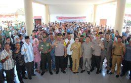 Bersama Bupati Calon Sangadi di Bolmong Gelar Deklarasi Damai