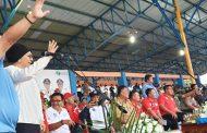Walikota dan Wakil Walikota Kotamobagu Hadiri Pembukaan PORPROV Sulut ke – X Sulut