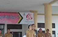 Yasti Pimpin Apel Perdana Pemkab Bolmong