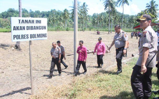 Hibahkan 5 Hektare Lahan, Pemkab Bolmong Putuskan Desa Dulangon Jadi Tempat Pembangunan Mapolres Bolmong