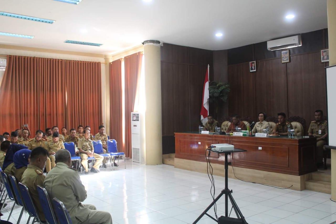 Bupati Bolmong Himbau OPD Fokus Pada Pemerikasaan BPK RI