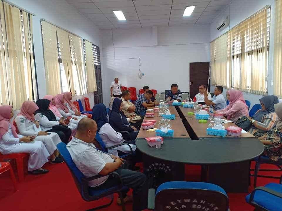 Gabungan Lintas DPRD Gelar Rapat Dengan Manajeman RSUD Kotamobagu