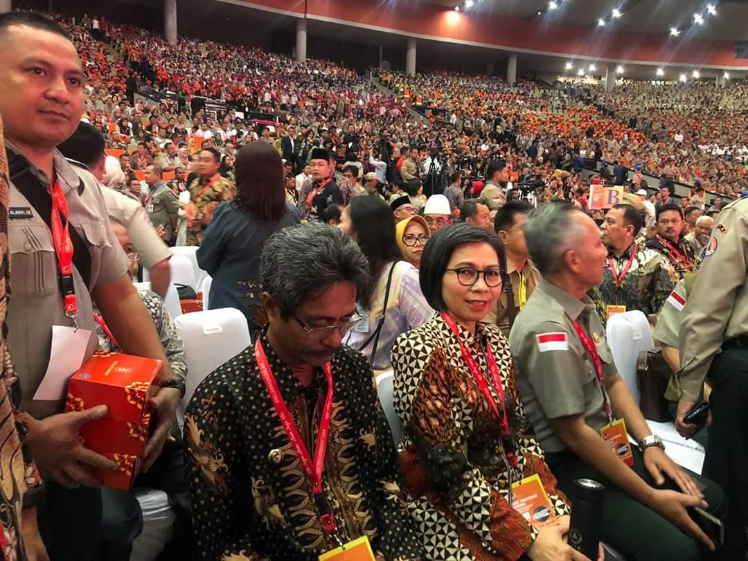 Bupati Bolmong Hadiri Rakornas Penanggulangan Bencana Nasional