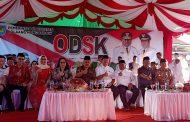 Pemkab Bolmong Terima Bantuan 150 Lampu Solar Cel