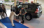 Sambangi Pemkab Bolmong, Yasti Sambut Pangdam XIII Merdeka