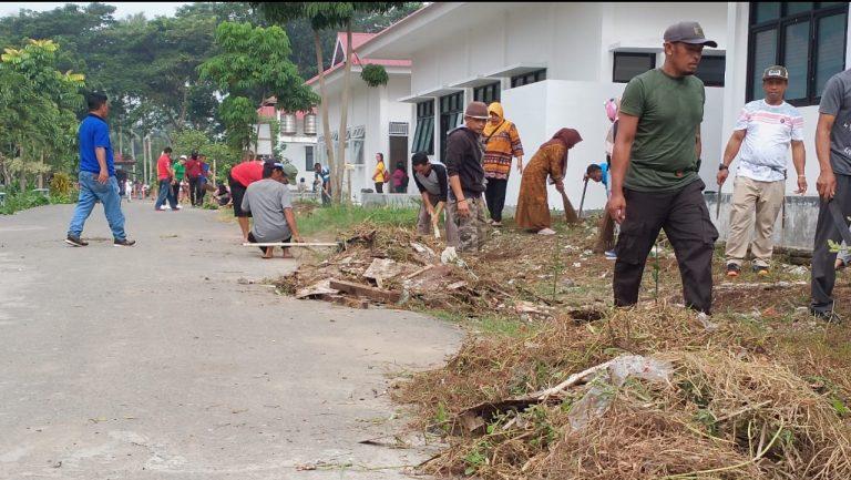 Tak Terkecuali, ASN Pemkot Kerja Bakti di RSUD Kotamobagu