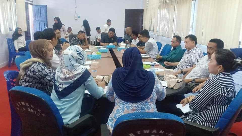 DPRD Kotamobagu Gelar Rapat Dengan Tim TAPD