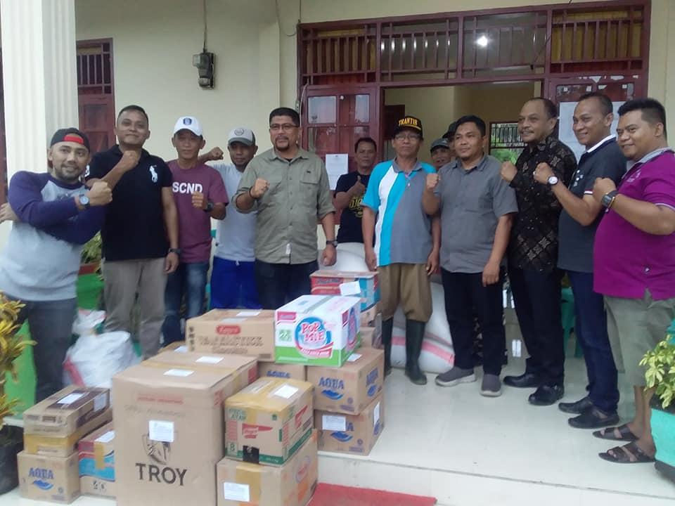 DPRD Kotamobagu Berbagi Kasih Untuk Korban Banjir Bandang di Bolmong dan Bolmut