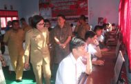 Bupati Bolmong Buka Pelaksanaan UNBK Tingkat SMK