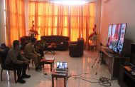 Bahas Masalah Covid 19,Gubernur Sulut Gelar Teleconfrence Bersama Pamkab Bolmong
