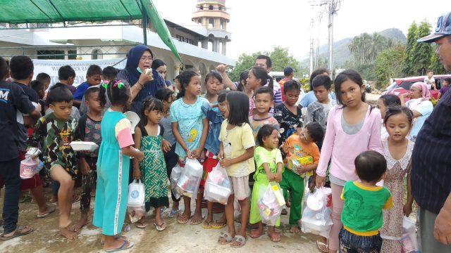 DP3A Bolmong Terus Berikan Perhatian Pada Anak Terdampak Bencana Alam