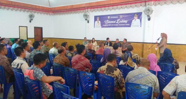 3 Senator Sulut Bertandang ke Kotamobagu, TB-NK Sambut Hangat.