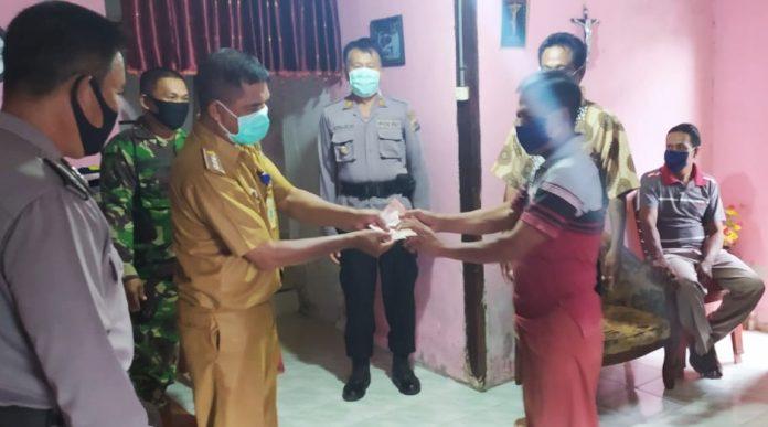 BLT untuk Masyarakat Bolmong Terdampak Covid-19 Mulai di Salurkan