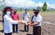 Pemkab Bolmong Gelar Gerakan Tanam Dan Penyerahan Bantuan  DukungKetahanan Pangan