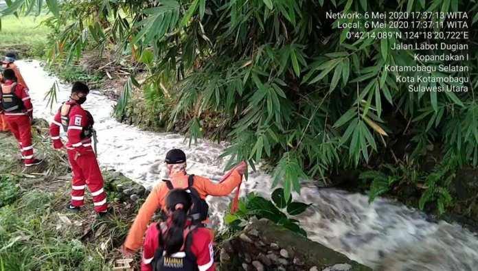 Bocah Laki-Laki Asal Desa Tabang Ini Manyut di Sungai