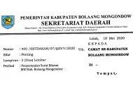 Ini Syarat Pelaksanaan Solat Ied di Kabupaten Bolmong
