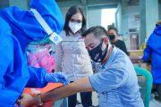 Pemkot Rapid Tes Masal Pedagang Pasar 23 Maret