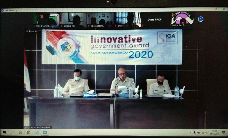 Dalam Ajang IGA KK 2020 42 Inovator Berlaga