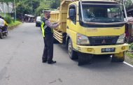 Gelar Oprasi Patuh, Satlantas Polres Bolmong Ciduk Sejumlah Pelanggar Lalulintas
