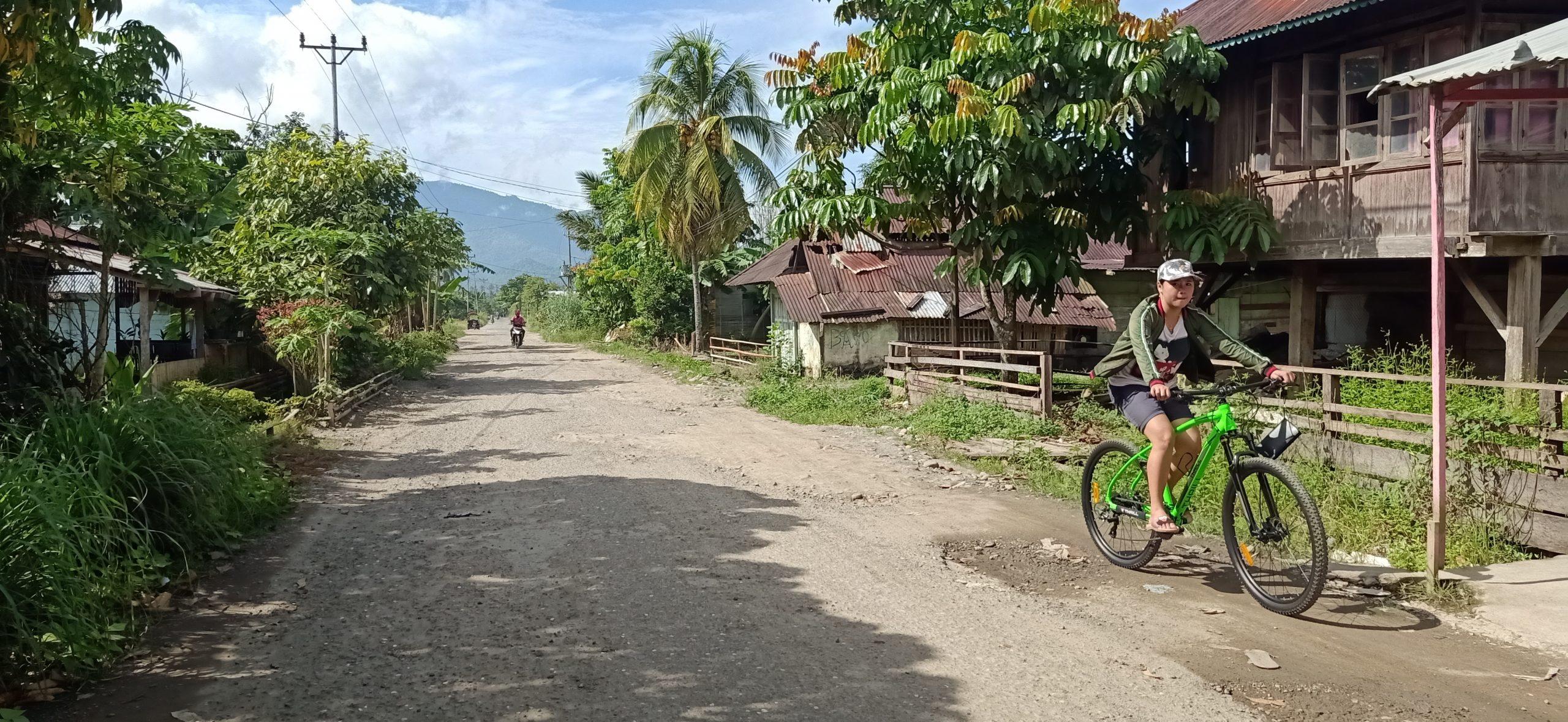 Setelah Beralih Status Pemkab Bolmong Siap Perbaiki Ruas Jalan Desa Tungoi II