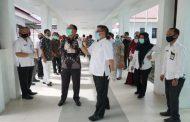 Pemkab Gorut Bertanda ke Wakil dan Kunjingi RSUD Kotamobagu