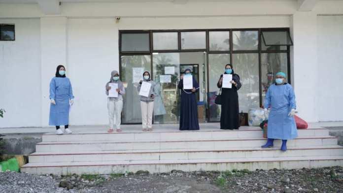 Empat Pasien Covid-19 di RSUD Kotamobagu, Sembuh dan Pulang.