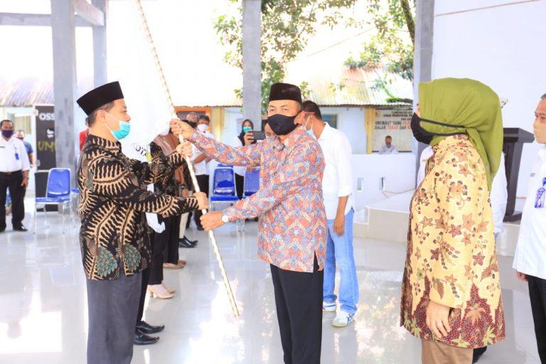 Kafilah Ikut Ajang MTQ Tingkat Provinsi, Dilepas Oleh Walikota