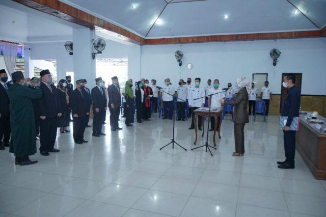19 Pejabat Struktural Dilantik Wali Kota Tatong Bara
