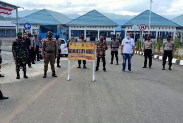 Polres Kotamobagu Gelar Gerakan Sejuta Masker