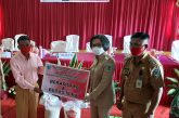 Pemkab Bolmong Salurkan Bantuan Bencana Non Alam Tahap Empat di Sangtombolang