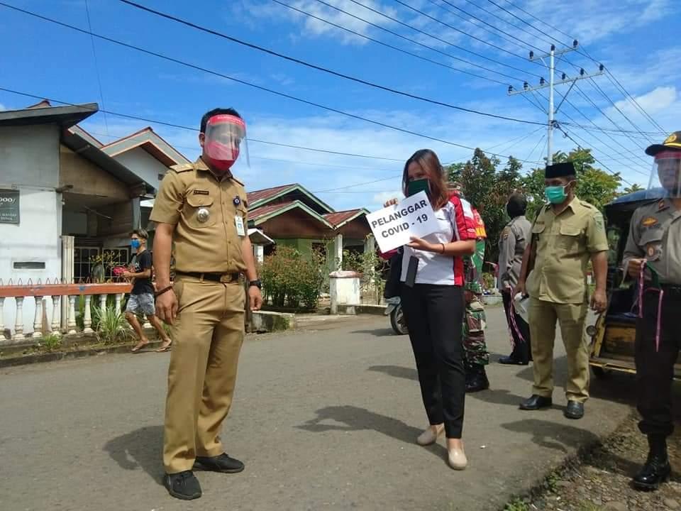 Bareng TNI - POLRI Pemerintah Kecamatan Passi Barat Gelar Oprasi Yustisi