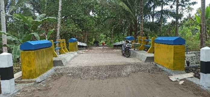 Jembatan Penghubung Kotamobagu dan Boltim, Rampung.
