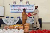Pemdes Moyag Tompoan Terima Ratusan Paket Sembako