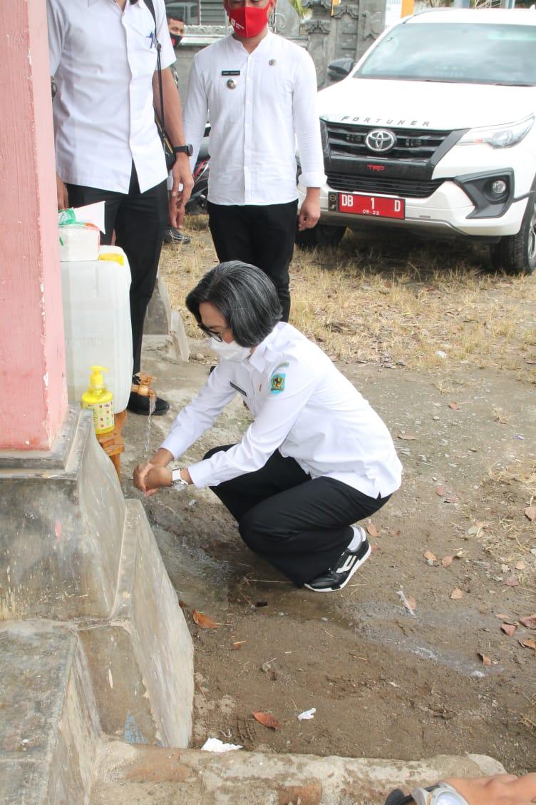 Bupati Bolmong Minta Masyarakat Budayakan Cuci Tangan