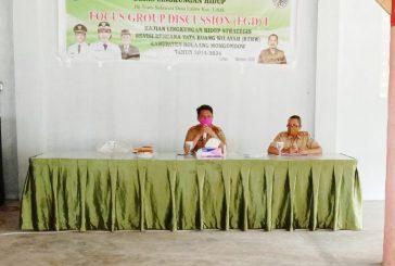Sekda Bolmong Buka Kegiatan FGD Revisi RTRW KLHS Kota Lolak