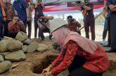 Bupati Letakan Batu Pertama Pembangunan Kantor Agama