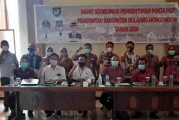 Bappeda Bolmong Gelar Rakor Pembentukan Pokja PKP