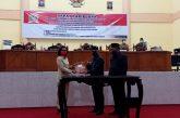 Hadiri Paripurna Penetapan APBD 2021, Yasti Ucapkan Terima Kasih Pada DPRD Bolmong