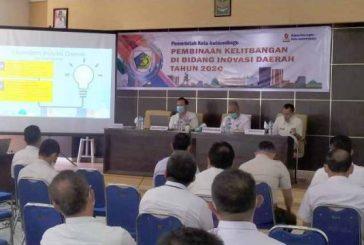 Bapelitbangda Gelar Pembinaan Kelitbangan di Bidang Inovasi Daerah