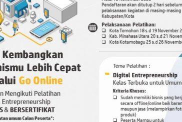 Diskominfo Bolmong Fasilitasi UMKM Ikuti Pelatihan Bisnis Digital