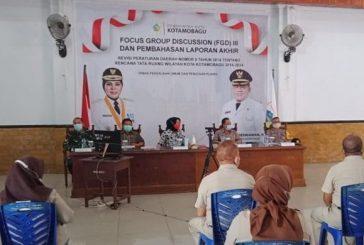 Oleh Wali Kota Membuka FGD Tahap III, Dalam Perubahan RTRW.