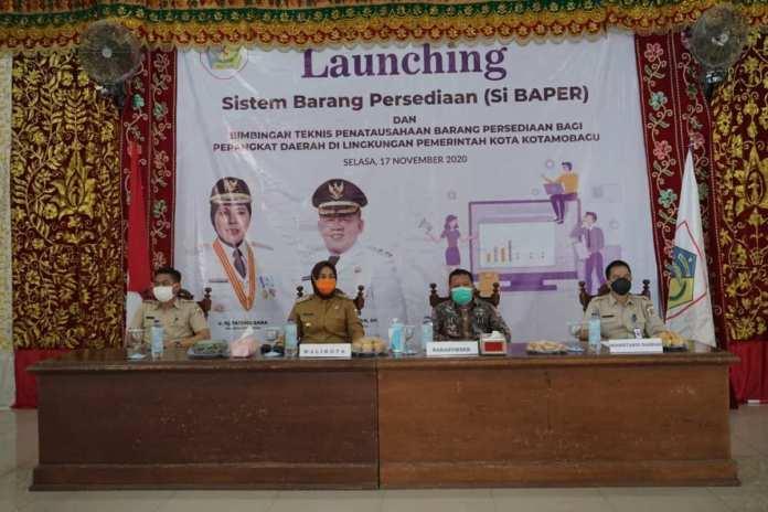 Wali Kota Launching Aplikasi Si Baper Produk BPKD