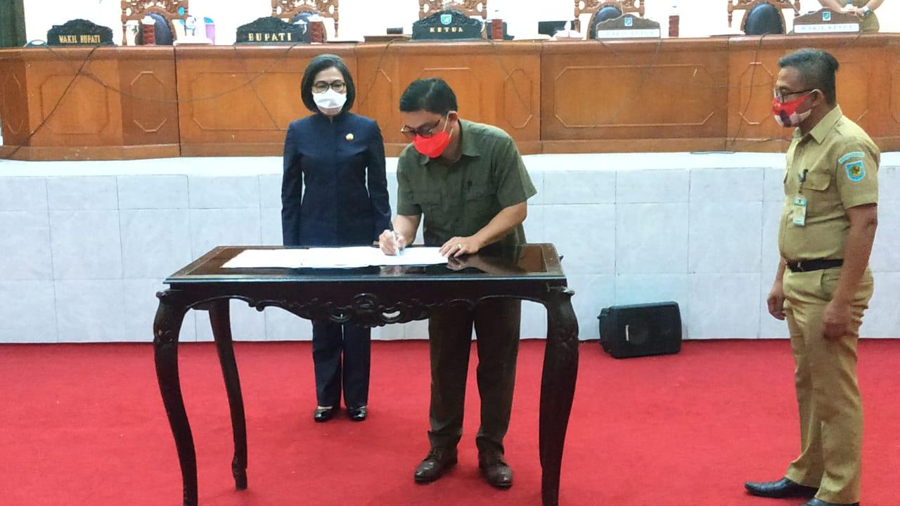 DPRD Bolmong Gelar Paripurna Kesepakatan KUA PPAS 2021