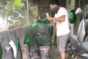 Bisnis Cating Stiker Oleh Arif Mokoginta Menjanjikan Untung