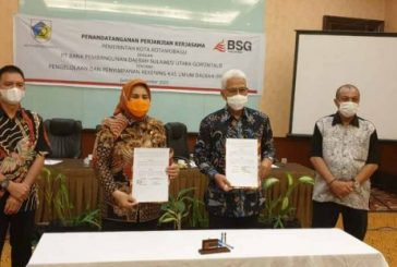 Wali Kota dan Bank Sulutgo Tandatangani MOU