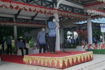 Dalam Upacara Korpri, Tatong Bara Bacakan Pidato Jokowi