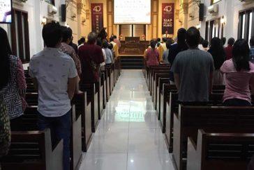 Kapasitas Ibadah Untuk Natal, Gereja Dibatasi.