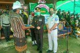 JR Kotamobagu Beri Santunan Korban Laka, Anggota Polri, di Siniung.