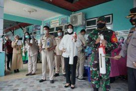 Vaksinasi Covid-19, Resmi Dicanangkan Wali Kota Kotamobagu